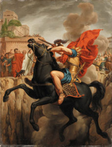 The Sacrifice of Marcus Curtius