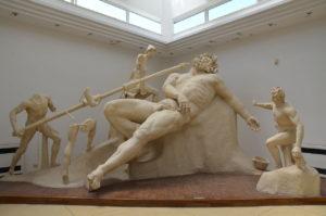 The Blinding of Polyphemus, cast reconstruction of the group, Sperlonga.