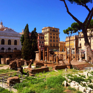 The theatre complex housed several other buildings, including the infamous curia where Julius Caesar was assassinated in 44 BC.