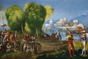 Aeneas and Achates, by Dosso Dossi (1520)