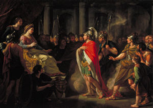 Sir Nathaniel Dance-Holland, 'The Meeting of Dido and Aeneas' exhibited 1766