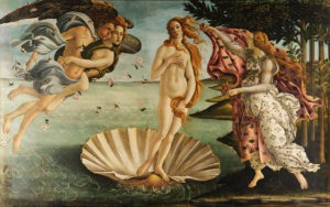 The Birth of Venus by Sandro Botticelli (c.1480s)