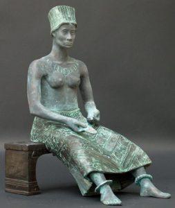 Christine Jongen, Dido, bronze sculpture, 2007-08.