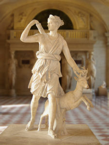The Diana of Versailles, a 2nd-century Roman version