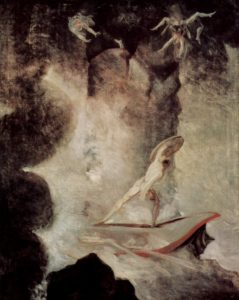 Odysseus in front of Scylla and Charybdis, Henry Fuseli (1794/6)