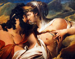 Jupiter and Juno on Mount Ida, by James Barry (1773)