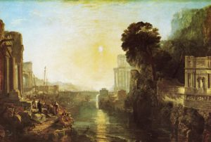 JMW Turner, Dido building Carthage, or The Rise of the Carthaginian Empire, 1815