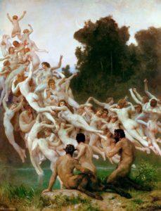 Les Oréades (1902) by William-Adolphe Bouguereau