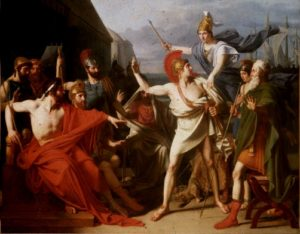 The Wrath of Achilles (1819), by Michel Drolling.