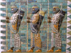 Persian Warriors from Berlin Museum