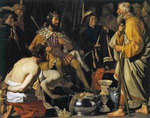 Solon and Croesus, by  Gerard van Honthorst  (1592–1656)