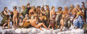 The Council of Gods, Raphael (1517-18)
